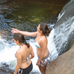 Swimming in Bear River, Grafton Notch